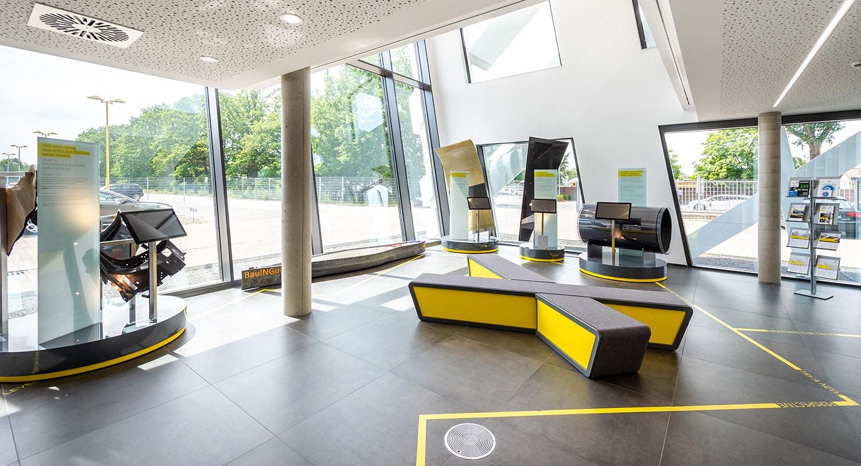 HOFF Büro Saertex Foyer