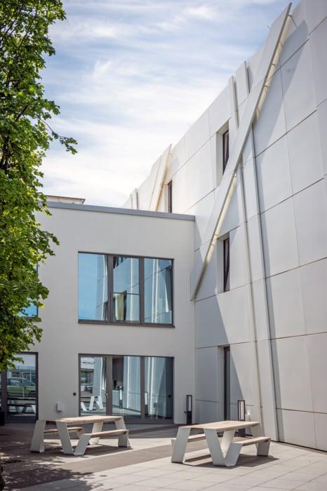 HOFF Saertex Büro Innenhof